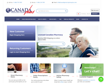 Canada Prescriptions Plus Review – A Pharmacy That's Likely An Scam